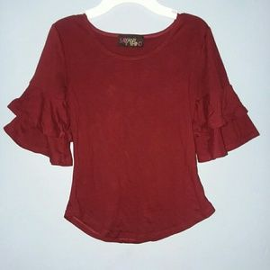 Tops - Women CASUAL Flare Fitted Blouse